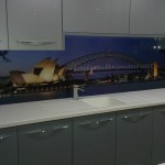 City View Glass Splashback